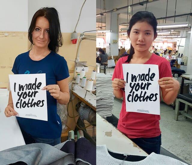 Faire Kleidung - strenge Sozialstandards.