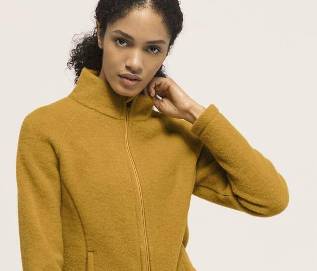 Naturfleece Kleidung aus 100 % Bio-Merino