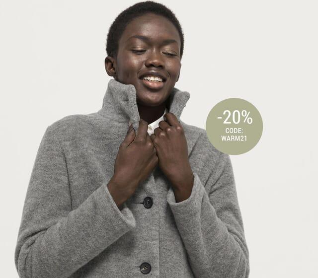 20% auf  Jacken & Mäntel