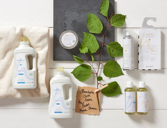 Wash naturally with ecological detergents.
