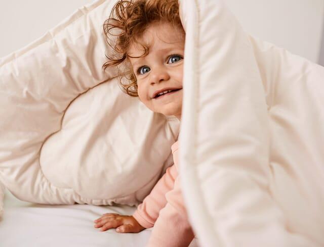 Bettdecken für Babys und Kinder.