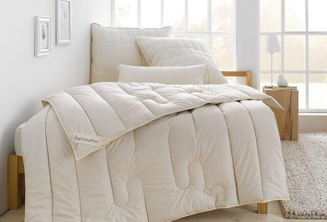Ganzjahres-Bettdecken.