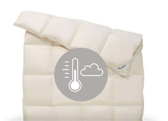 Nachhaltige Bettdecken der Wärmeklassen 3 und 4