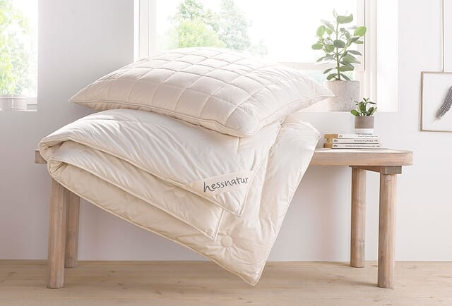Winter-Bettdecken.