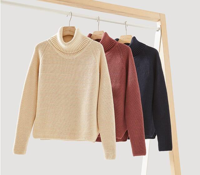 Women's fashion basics made of organic cotton