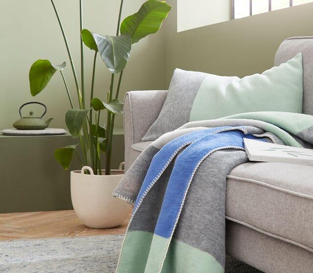 Wolldecken & Plaids in Bio-Qualität