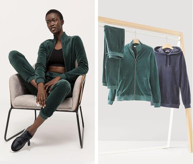 Loungewear aus Bio-Baumwolle