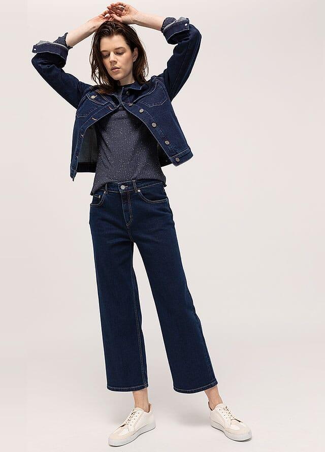 Damen Jeanskleidung