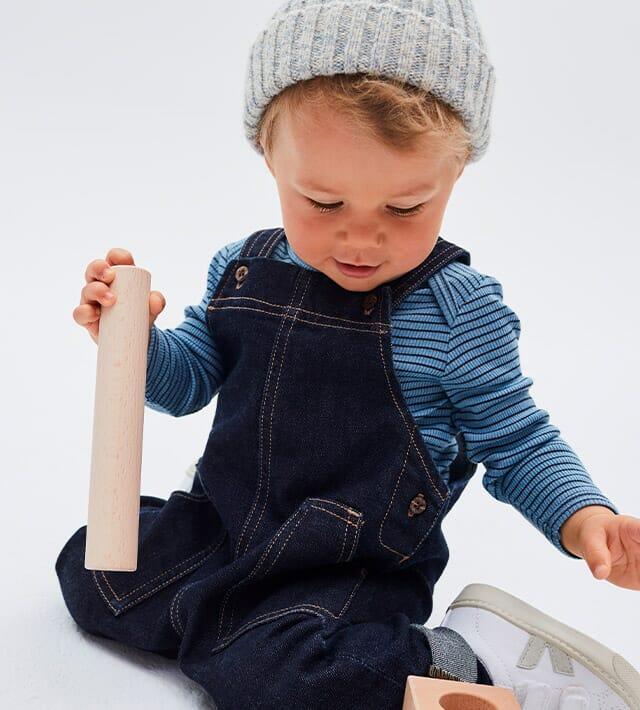 Recyceling-Mode für Babys und Kinder