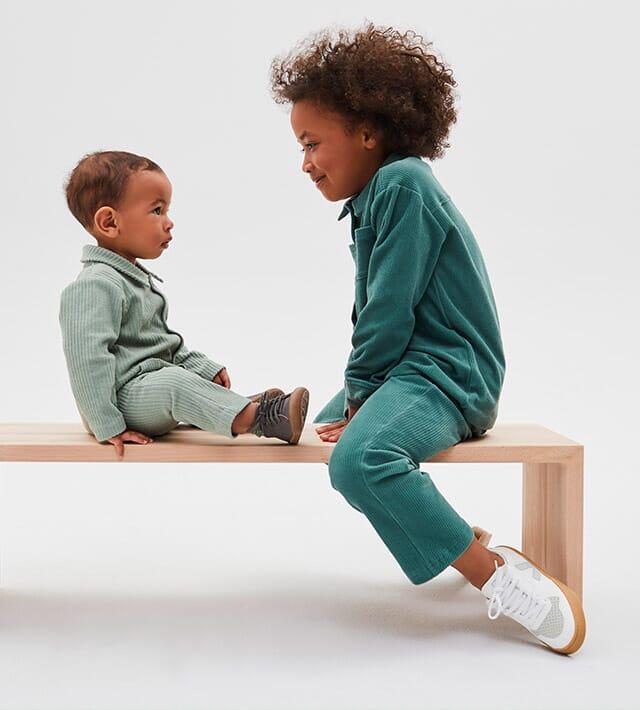 Cord in Bio-Qualität für Babys und Kinder