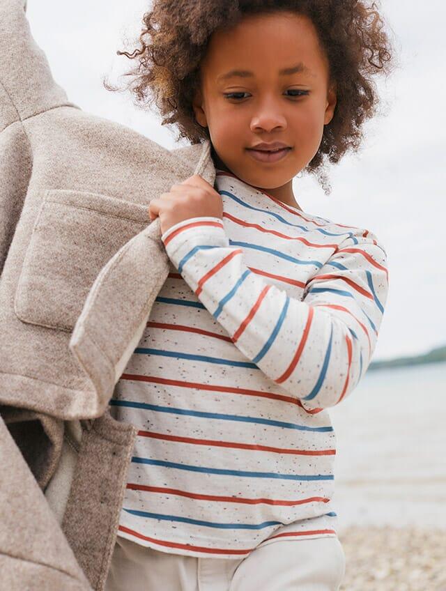 Zeitlose Ringel-Looks für Babys und Kinder