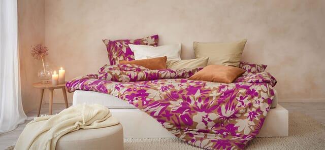 Bettwäsche - 100 % natürlich und fair produziert.