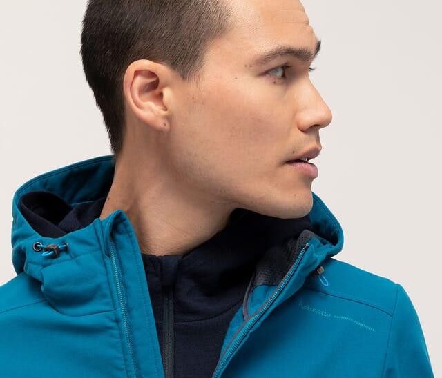 Softshell-Jacken und Hosen aus Bio-Baumwolle