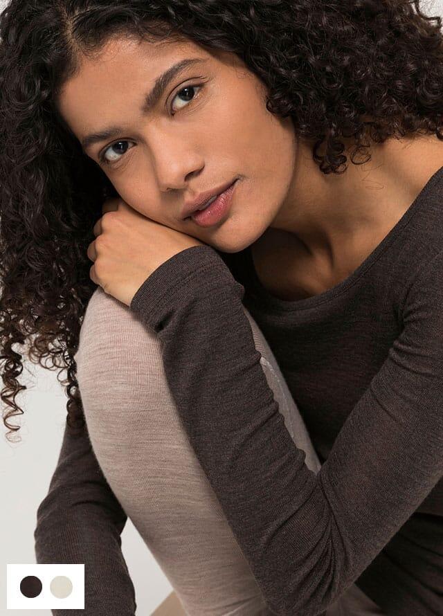 Organic merino underwear for women