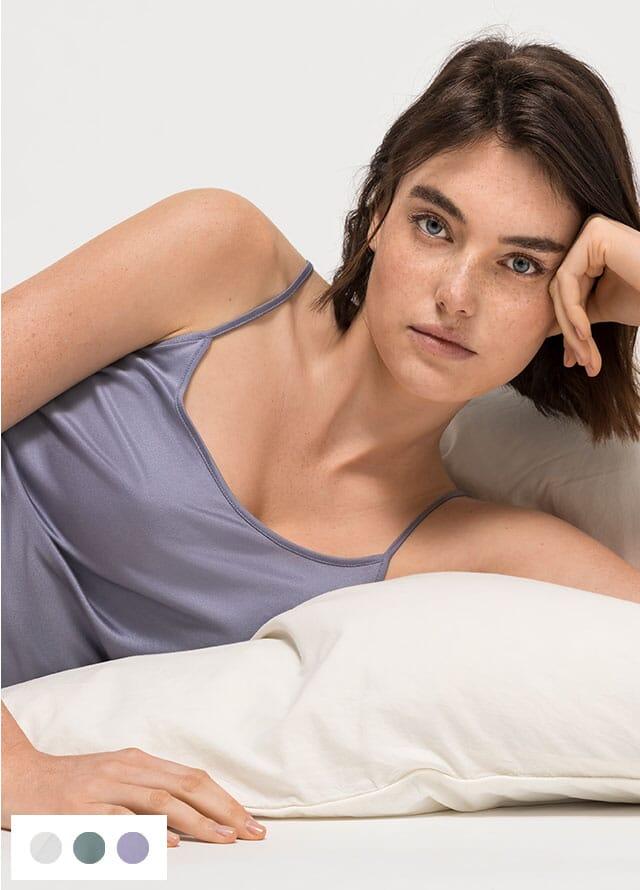 Women's underwear made from organic silk