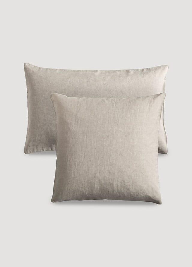 Organic pillowcase with linen