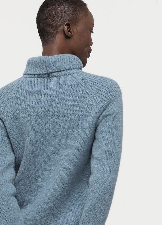Trendfarbe Grau-Blau