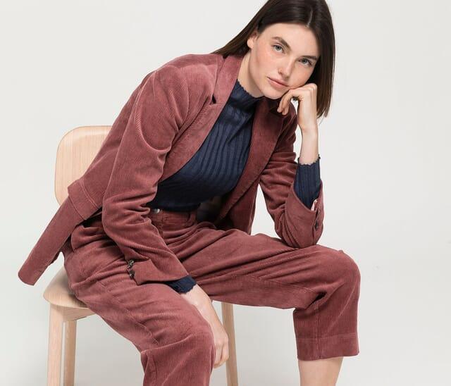 Women's clothing made from hemp