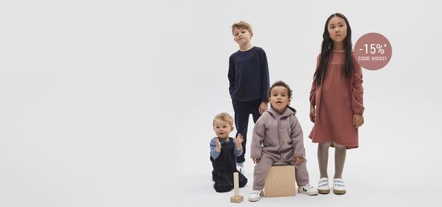 -15% auf das Baby- und Kindersortiment