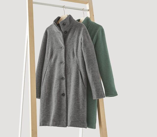 Jacken und Mäntel für die kalte Jahreszeit.