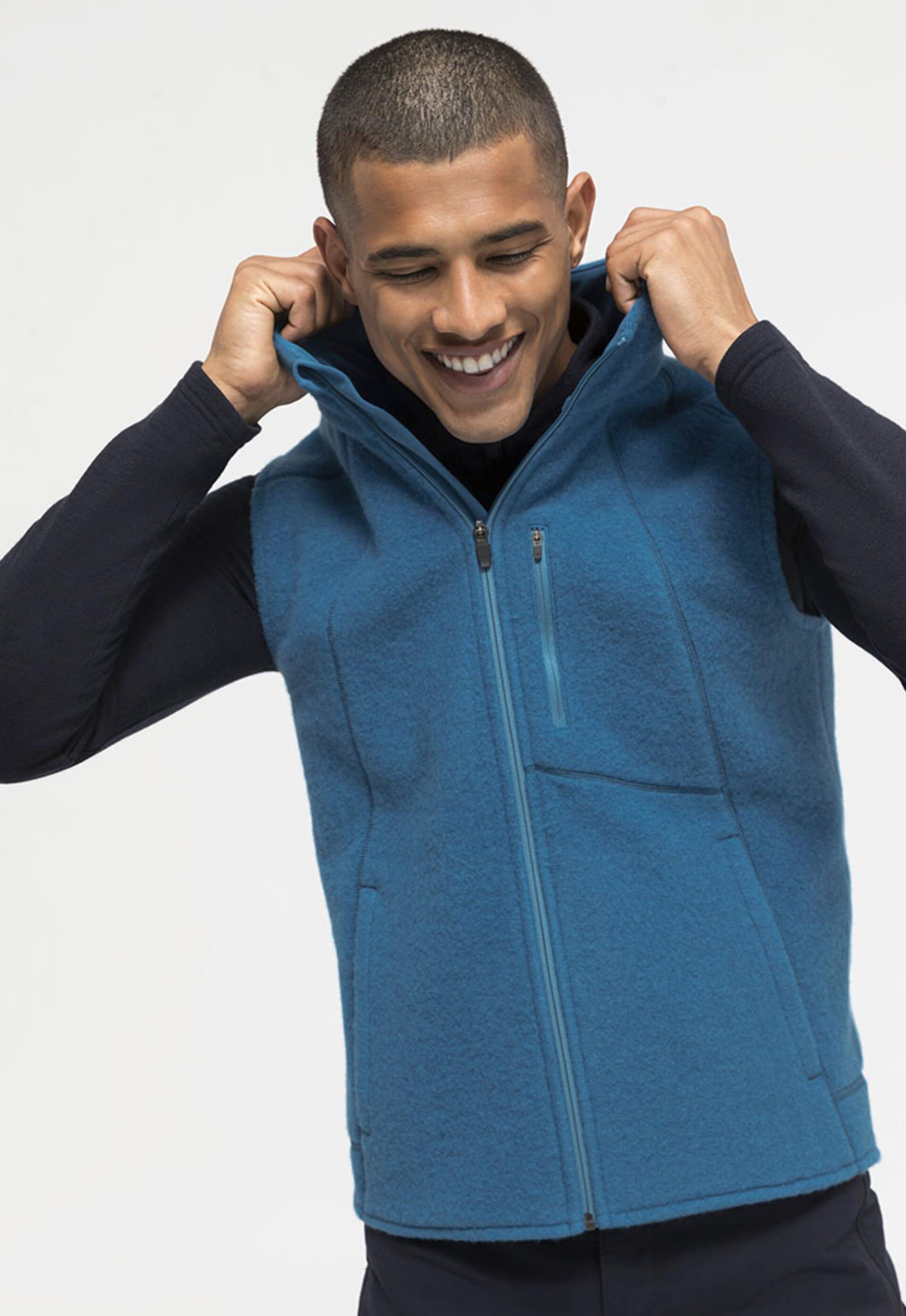 Fleece in Bio-Qualität – als Jacke oder Weste.